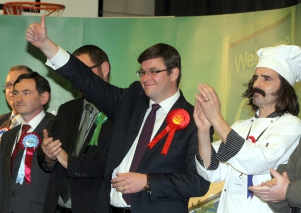 Andy Sawford elected MP