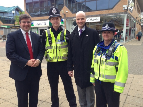 Andy Sawford Adam Simmonds PCC